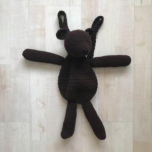 Handbags - Crochet bear backpack